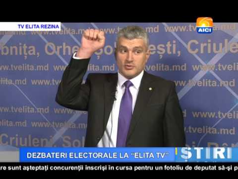 AICI TV DEZBATERI ELECTORALE LA ELITA TV