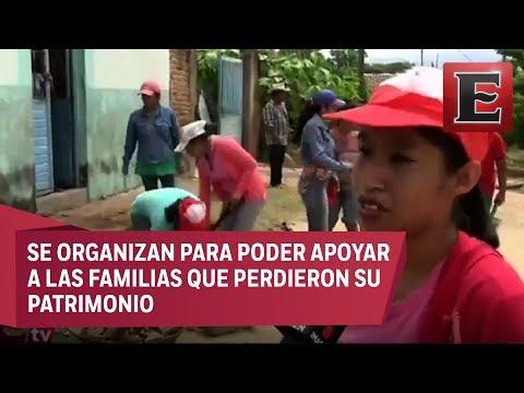 Afectados por sismo en Chiapas demandan ayuda