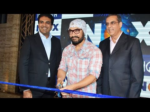 Aamir Khan Launches INOX In His New Look