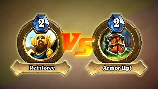 Hearthstone: Button Abuse: Trump Is a Professional Hearthstone Player (Paladin vs Warrior)