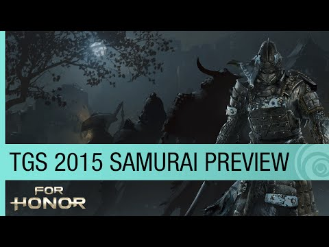 For Honor Official Trailer – TGS 2015 Samurai Preview — The Oni