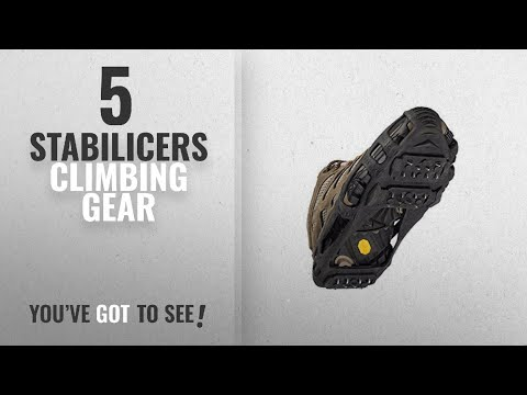 Top 10 Stabilicers Climbing Gear [2018]: STABILicers Walk Traction Ice Cleat and Tread for Snow &