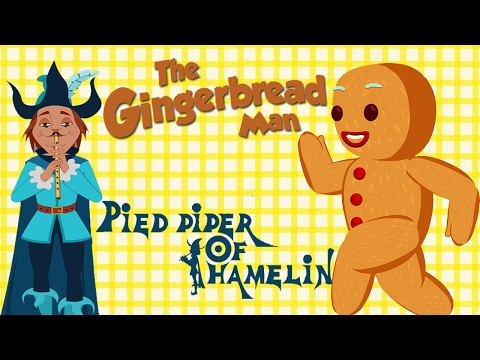 The Gingerbread Man | Pied Piper Of Hamelin - Best Fairy Tales Collection for Kids