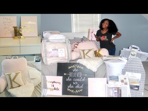 HUGE Freshman College Dorm Haul | Bedding, Decor, Storage & More + Tips To Save $$$