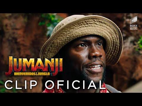 Jumanji: Bienvenidos a la Jungla - Kevin Hart es Moose?>