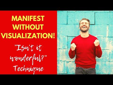 "Neville Goddard Technique: ""Isn't It Wonderful?"" | Easiest Manifestation Method!"