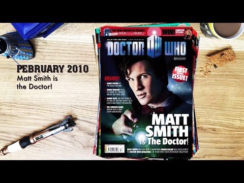 Every Doctor Who Magazine Cover EVER!!