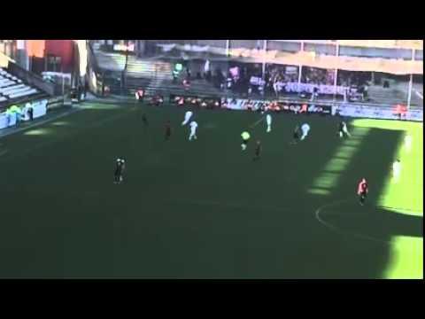 salernitana - reggina 2-1 il gran gol di davide moro