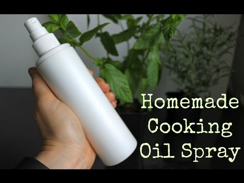 Make Your Own Cooking Oil Spray | Tastefully Vikkie