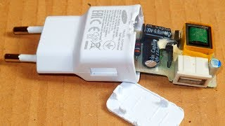 Samsung USB Charger Failure and Repair