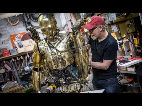 Adam Savage Creates Star Wars Costume Featuring Chewbacca Carrying an Animatronic