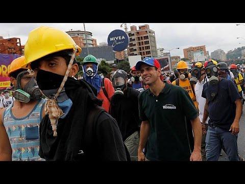 Νέες συγκρούσεις αστυνομίας και διαδηλωτών στο Καράκας