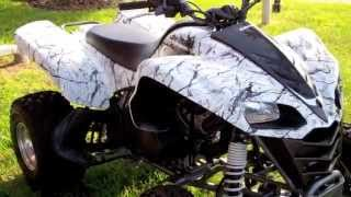 1. 2008 KAWASAKI KFX-700 FOR SALE IN BRANDON FLORIDA