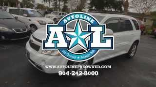 Autoline Preowned 2008 Chevrolet Equinox Sport For Sale Used Review Test Drive Jacksonville