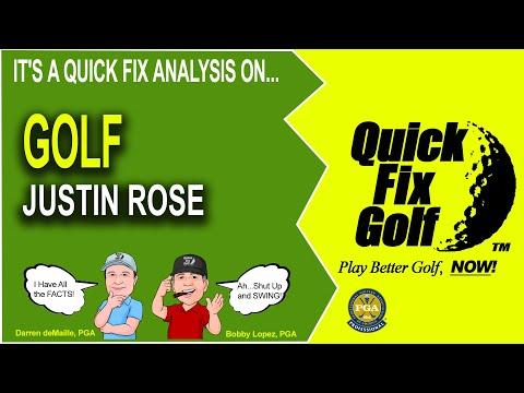 Golf Swing Analysis Online Justin Rose