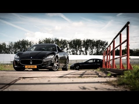 2013 Maserati GranTurismo Sport & MC Stradale Review - English Subtitled - www.hartvoorautos.nl