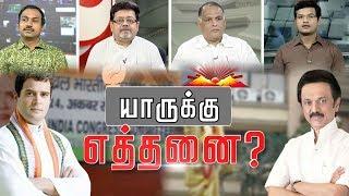 Video Special Debate: родро┐роорпБроХ роХрпВроЯрпНроЯрогро┐ропро┐ро▓рпН ропро╛ро░рпБроХрпНроХрпБ роОродрпНродройрпИ родрпКроХрпБродро┐роХро│рпН? #AIADMK #DMK #Congress #BJP #PMK MP3, 3GP, MP4, WEBM, AVI, FLV Februari 2019