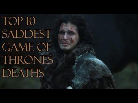 Top 10 Saddest Game Of Thrones Deaths