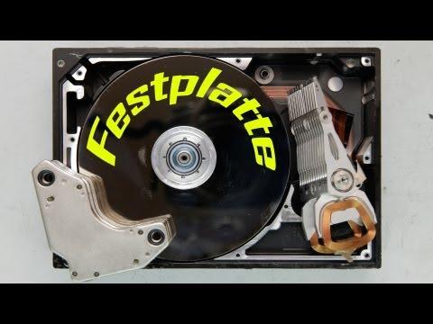 Ein Blick ins Innere: Zerlegen einer Festplatte und Auflösung des letzten Videos