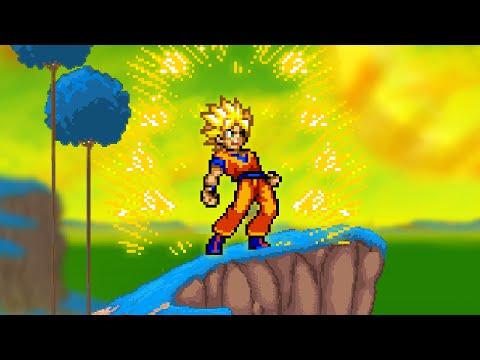 Super Smash Flash 2 v0.9 How To Turn Goku Into Super Saiyan