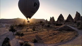 Goreme Turkey  City pictures : Hot air balloons of Cappadocia, Turkey (Filmed using GoPro Hero 3+ and Phantom 2 quadcopter)