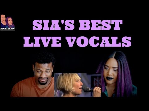 Video SIA'S BEST LIVE VOCALS| REACTION download in MP3, 3GP, MP4, WEBM, AVI, FLV January 2017