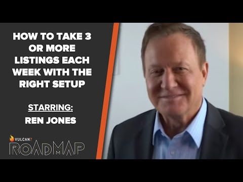 """ROADMAP Season 4 Episode 12: """"How to Take 3 or more Listings each Week with the Right Setup"""""""