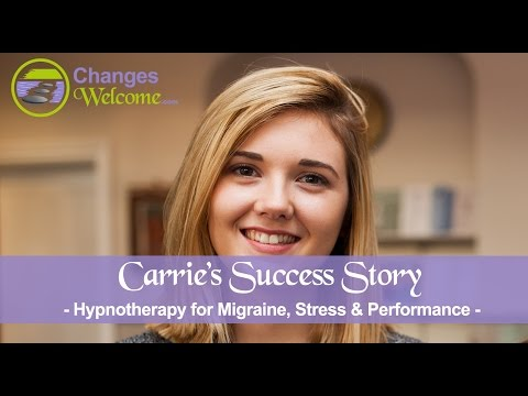 Carrie's Success Story - Migraine, Stress & Performance