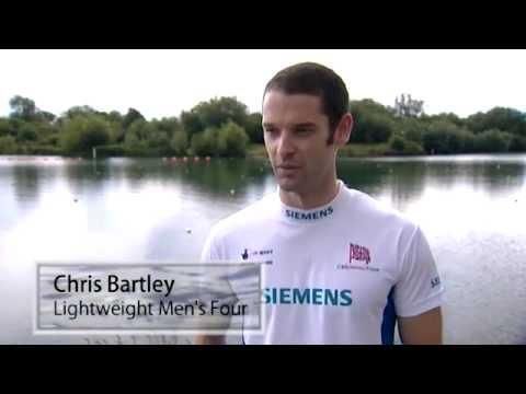 The GB Rowing Team on training for World Championships and 2012