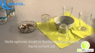Nikotingeruch entfernen mit BDLC-301