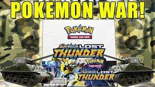 Pokemon Lost Thunder Booster Box WAR!!! by The Pokémon Evolutionaries