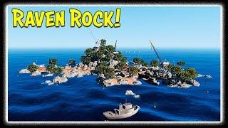 GTA 5 Zombie Apocalypse - RAVEN ROCK! New Island Mod
