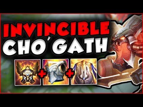 Gameplay Cho'Gath top tank được làm lại cực trâu bò