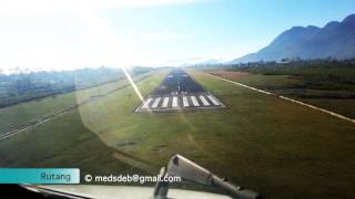 Ruteng Indonesia  city pictures gallery : MA60 landing in Ruteng, Indonesia [ RTG / WRKG ]