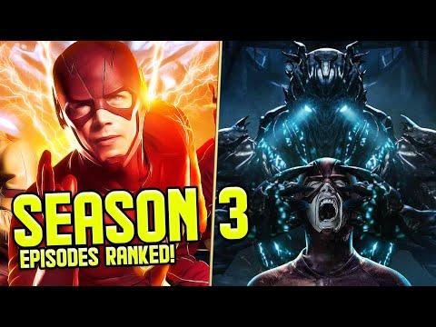 The Flash: Season 3 Episodes RANKED!