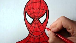 Видео: лицо человека паука