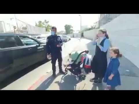 """משטרת ישראל: קנס 500 ש""""ח לילדה בוכה בת 10"""