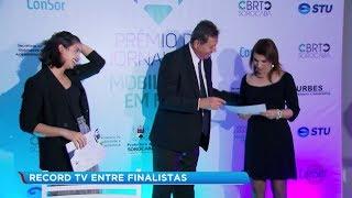 Record TV Paulista é finalista em prêmio com reportagem sobre mobilidade urbana em Sorocaba