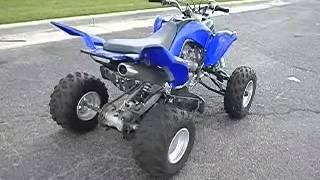 2. 2011 Yamaha Raptor 700R