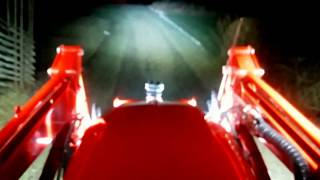 8. Branson tractor with led light