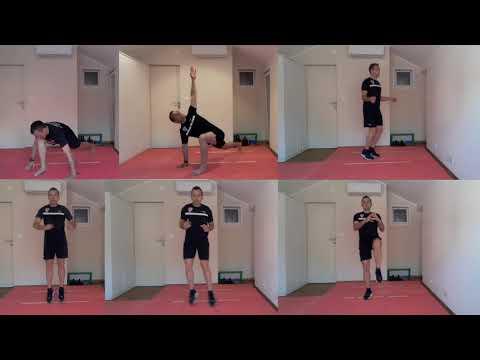 #VježbajDoma za suce 10: Funkcionalni trening Agilnosti 2