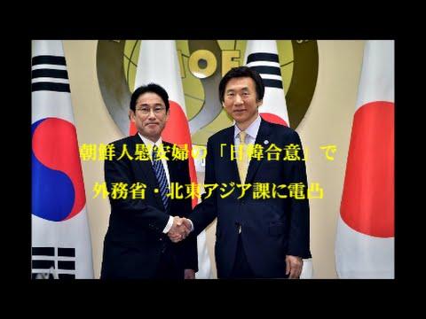 朝鮮人慰安婦の「日韓合意」で、外務省・北東アジア課に電凸