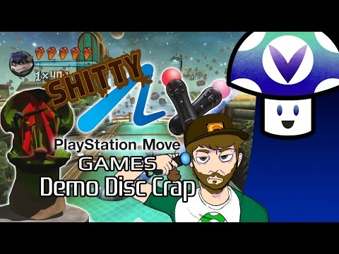 [Vinesauce] Vinny - Shitty PS Move Games: Demo Disc Crap
