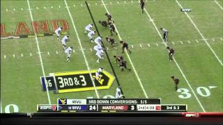 Kenny Tate vs West Virginia (2011)