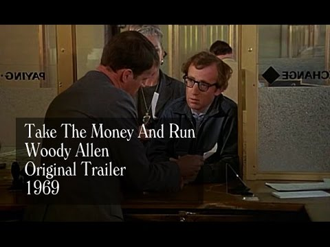Woody Allen - Take The Money And Run (1969) - Trailer