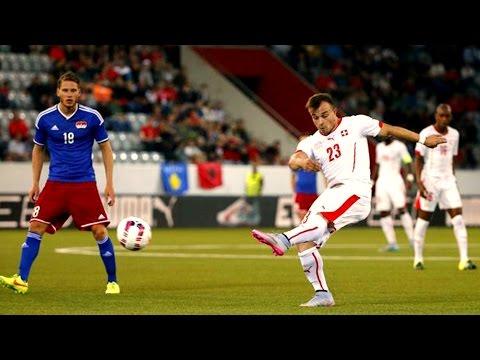 Switzerland vs Liechtenstein 3-0 All Goals 2015