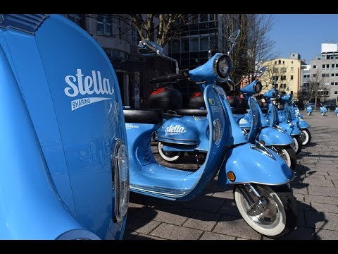 Saisonstart: Die blauen Stella-Roller flitzen wieder  ...