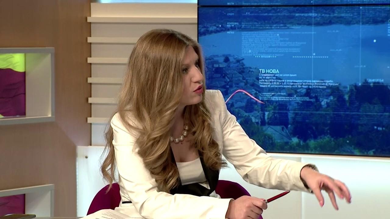Александар Пандов во вестите на ТВ Нова