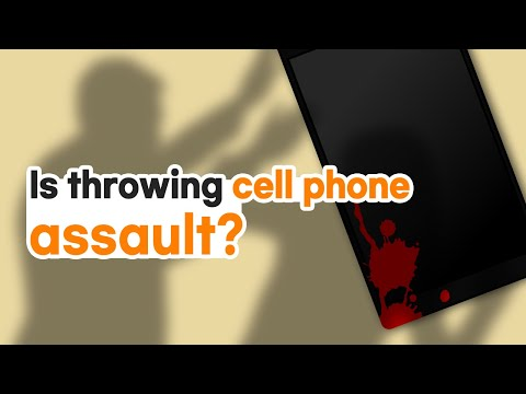 [Korean lawyer] Is throwing cell phone an assault? 핸드폰을 던지는 것이 폭행인가요?