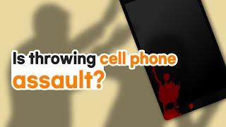 [Korean lawyer] Is throwing cell phone an assault? 핸드폰을 던지는 것이 폭행인가요?